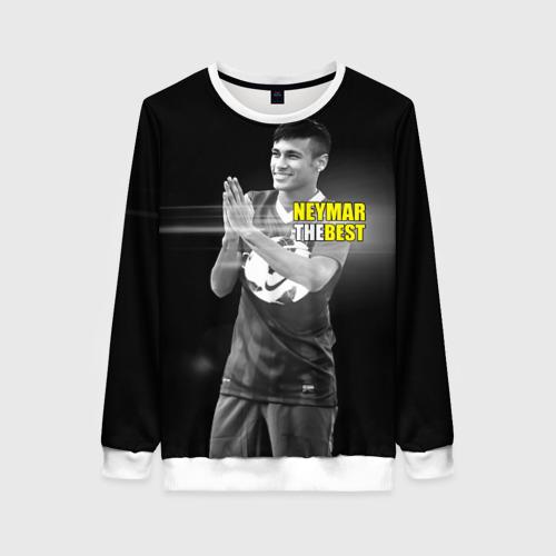 Женский свитшот 3D Neymar the best