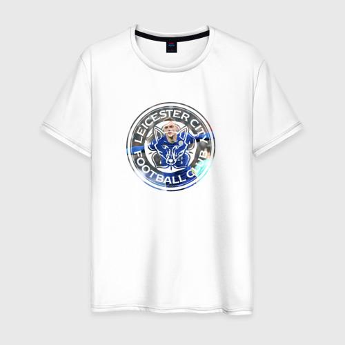 Мужская футболка хлопок Leicester Vardy