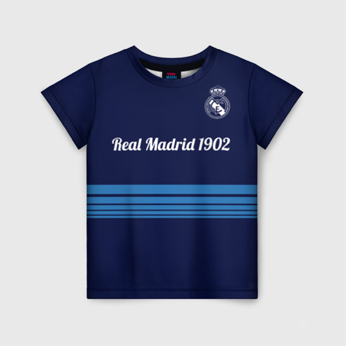 Детская футболка 3D FC Real Madrid