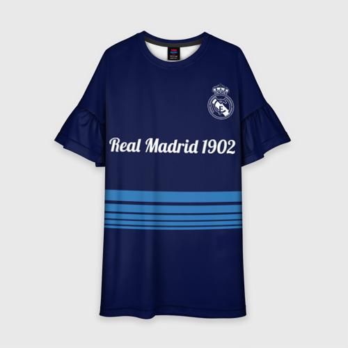Детское платье 3D FC Real Madrid