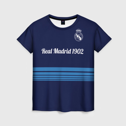 Женская футболка 3D FC Real Madrid