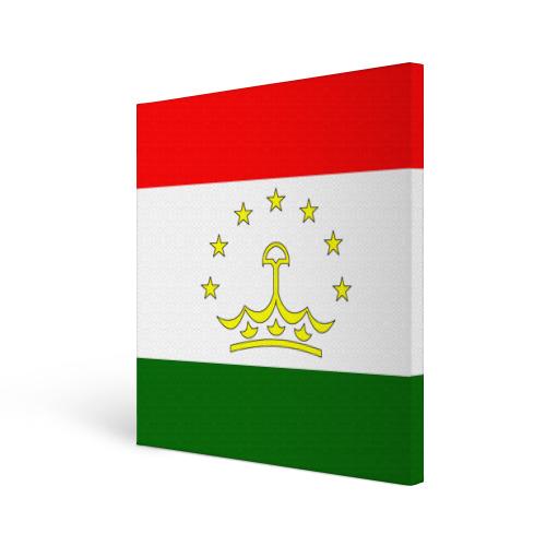 Холст квадратный Таджикистан