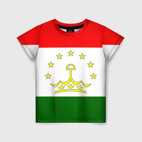 Детская футболка 3D Таджикистан