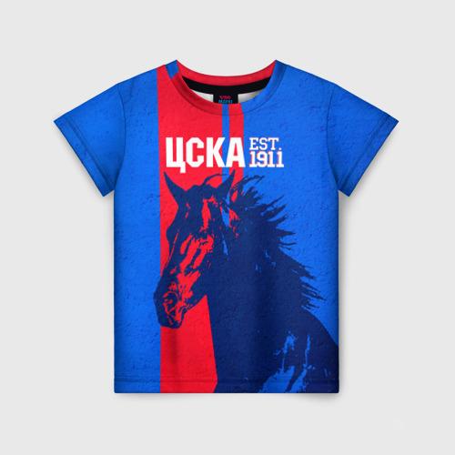 Детская футболка 3D ЦСКА ФК