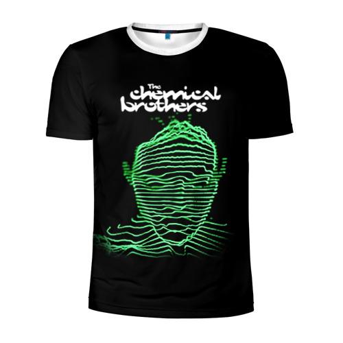 Мужская футболка 3D спортивная Chemical Brothers