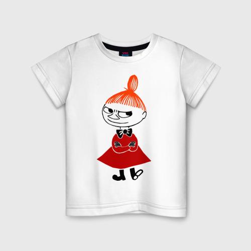 Детская футболка хлопок Малышка Мю