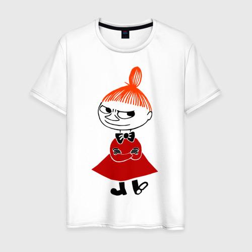 Мужская футболка хлопок Малышка Мю