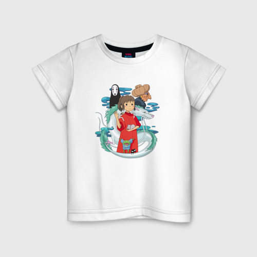 Детская футболка хлопок Унесенный призраками