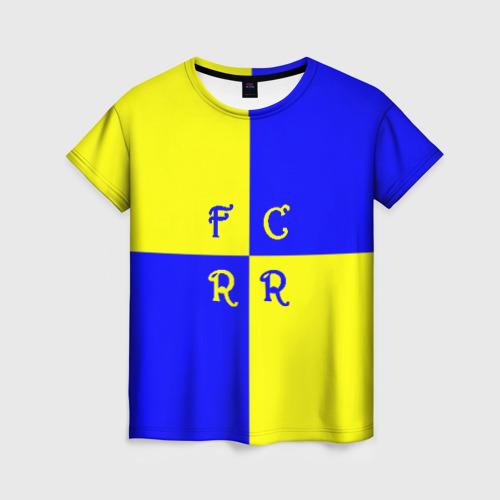 Женская футболка 3D ФК Ростов