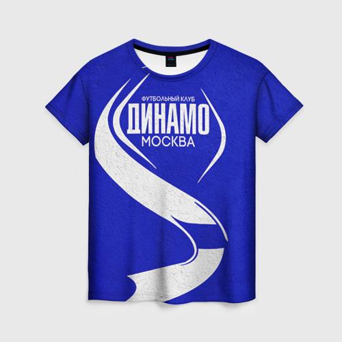 Женская футболка 3D ФК Динамо