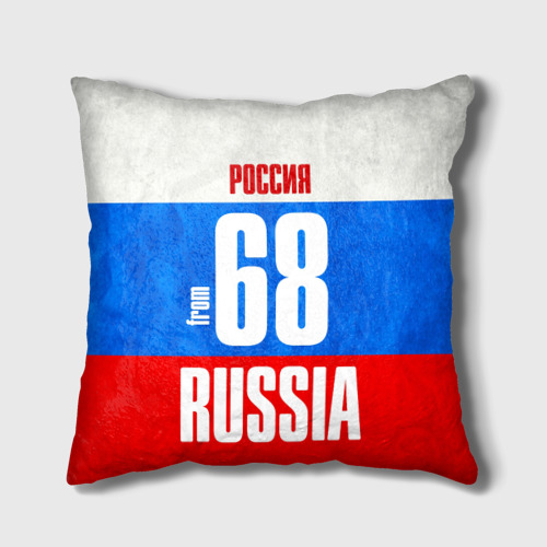 Подушка 3D Russia (from 68)