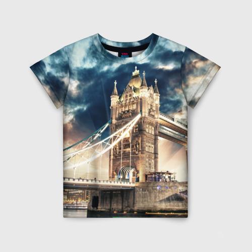 Детская футболка 3D Англия