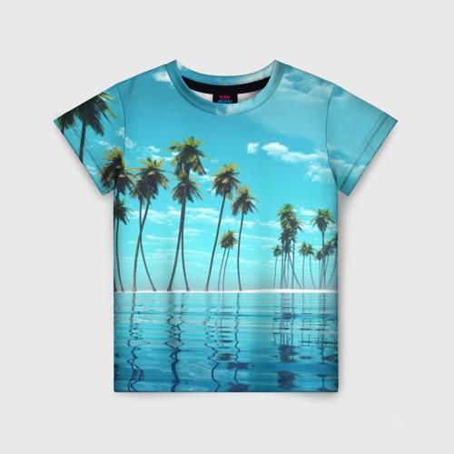 Детская футболка 3D Фиджи