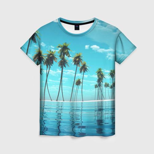 Женская футболка 3D Фиджи
