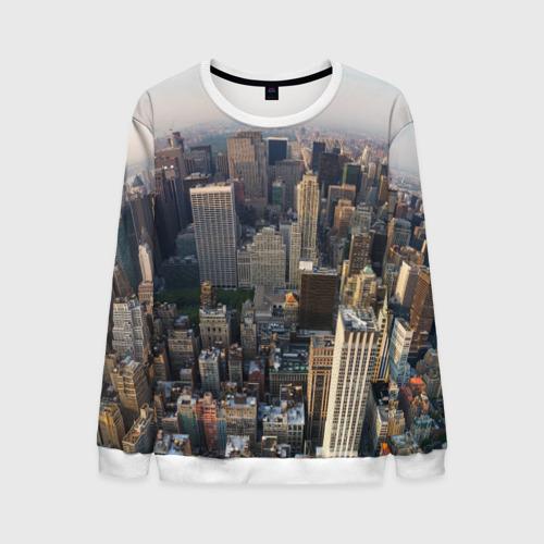 Мужской свитшот 3D New York
