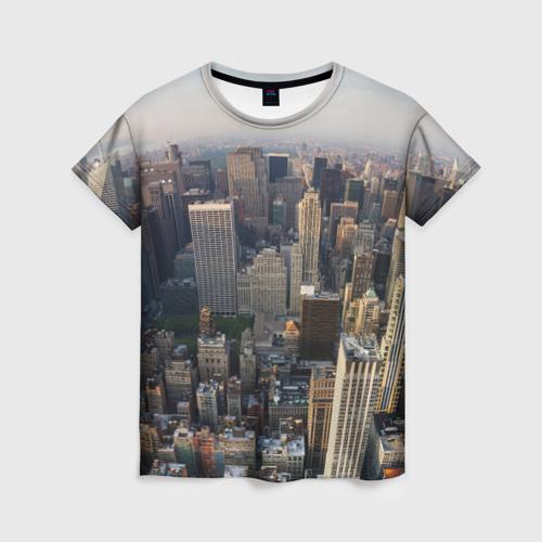 Женская футболка 3D New York