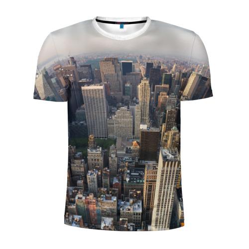 Мужская футболка 3D спортивная New York