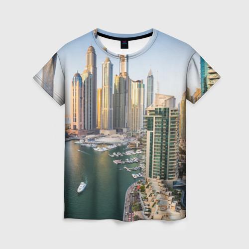 Женская футболка 3D Dubai