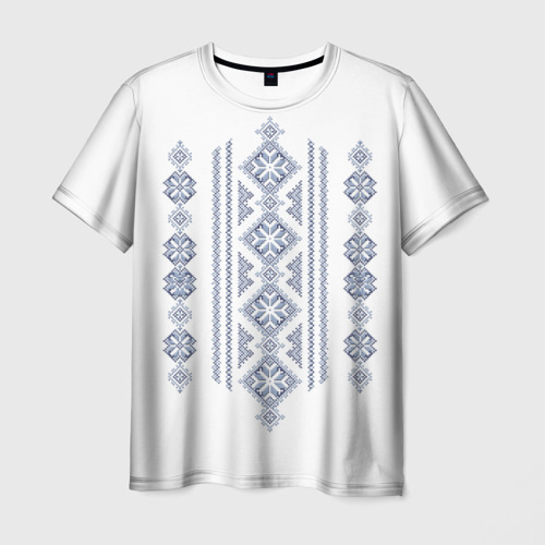Мужская футболка 3D Вышивка 24