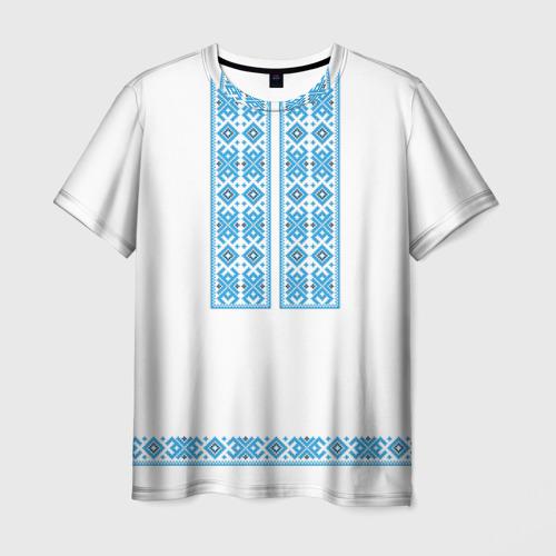 Мужская футболка 3D Вышивка 32