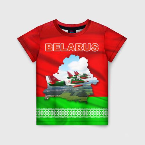 Детская футболка 3D Belarus 16