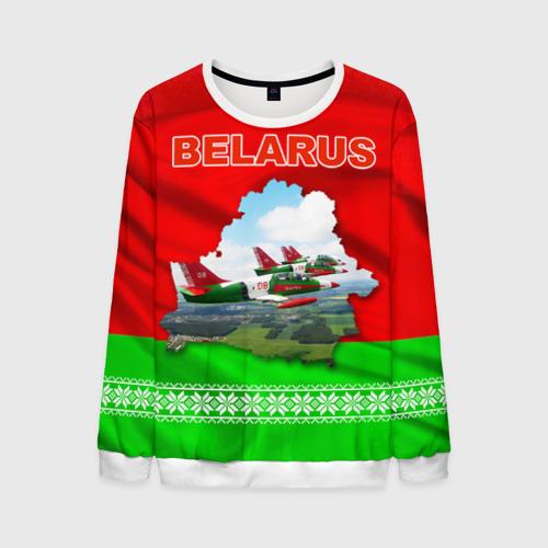 Мужской свитшот 3D Belarus 16