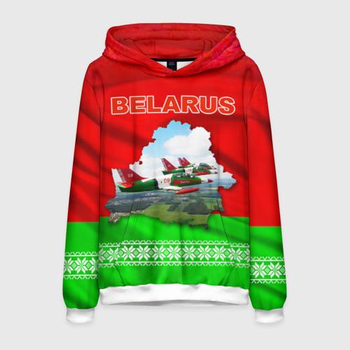Мужская толстовка 3D Belarus 16