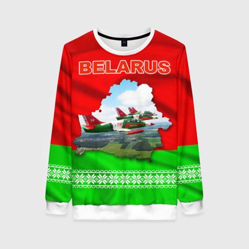 Женский свитшот 3D Belarus 16