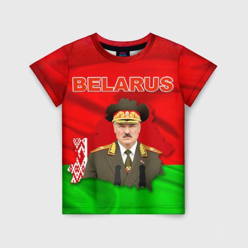 Детская футболка 3D Belarus 17