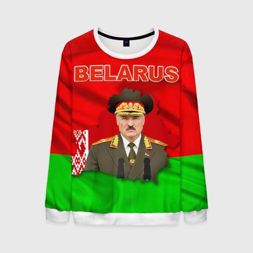 Мужской свитшот 3D Belarus 17