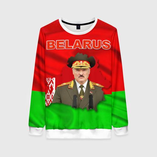 Женский свитшот 3D Belarus 17