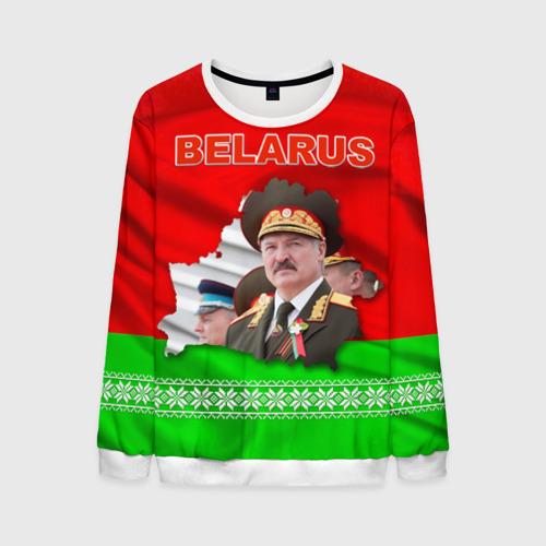 Мужской свитшот 3D Belarus 18