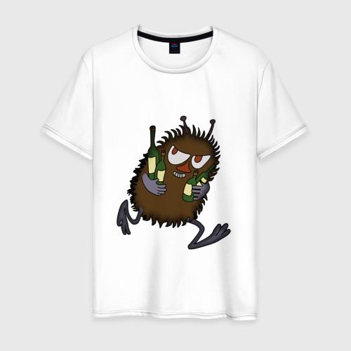 Мужская футболка хлопок Вонючка Стинки с бутылками