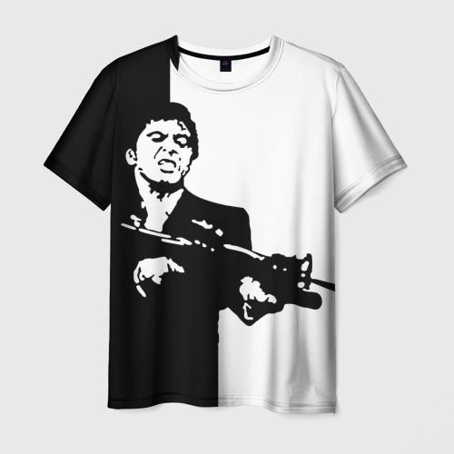 Мужская футболка 3D Тони Монтана