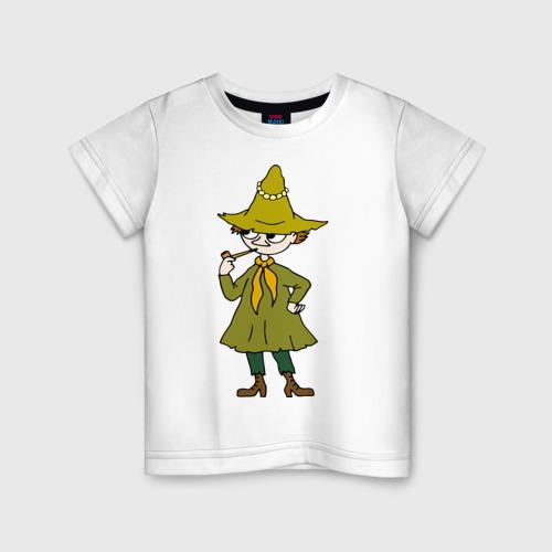 Детская футболка хлопок Снусмумрик