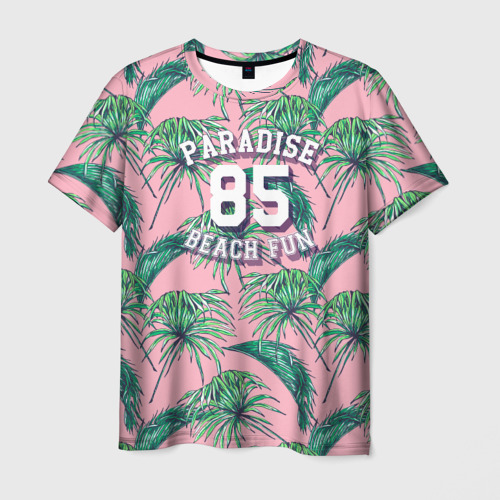 Мужская футболка 3D Paradise