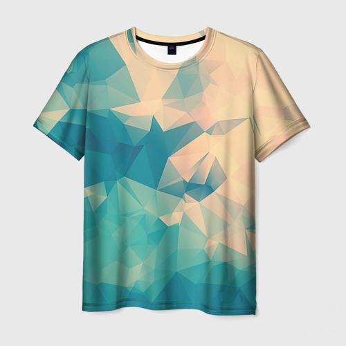 Мужская футболка 3D Абстракт