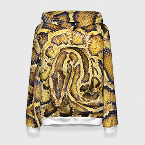 Женская толстовка 3D Змея