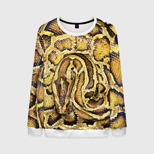 Мужской свитшот 3D Змея