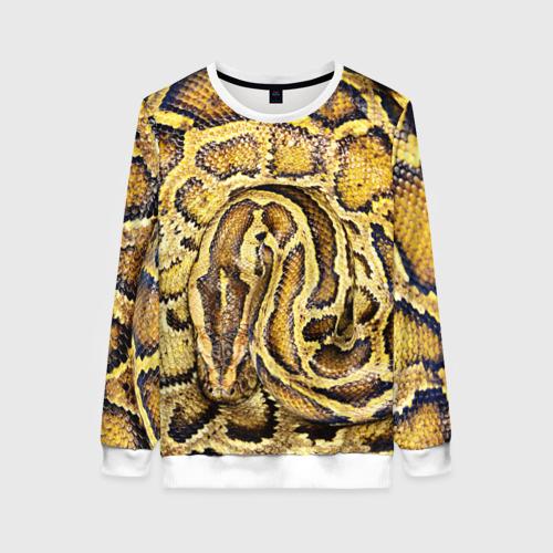 Женский свитшот 3D Змея