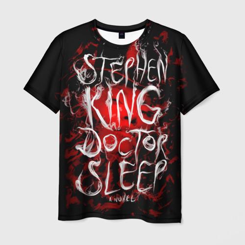 Мужская футболка 3D Стивен Кинг 10