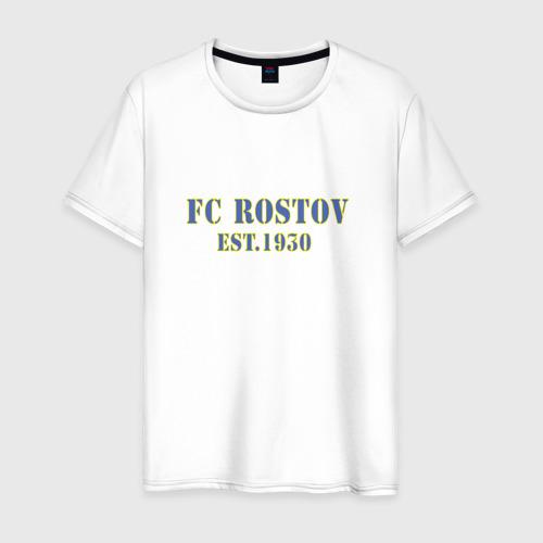 Мужская футболка хлопок Fc Rostov