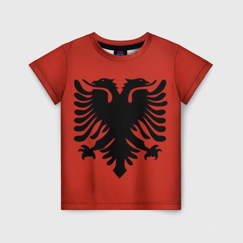 Детская футболка 3D Сборная Албания