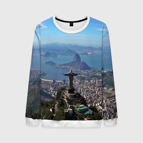 Мужской свитшот 3D Рио-де-Жанейро