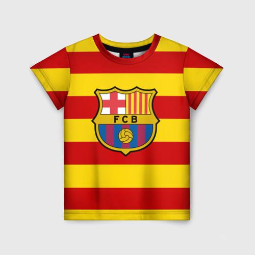 Детская футболка 3D Барселона (каталония)