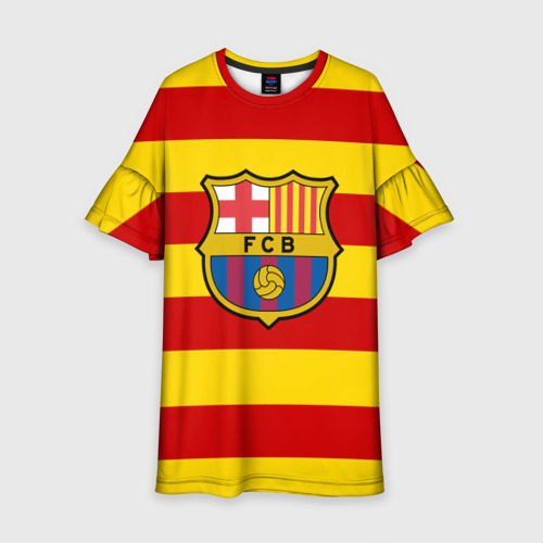 Детское платье 3D Барселона (каталония)