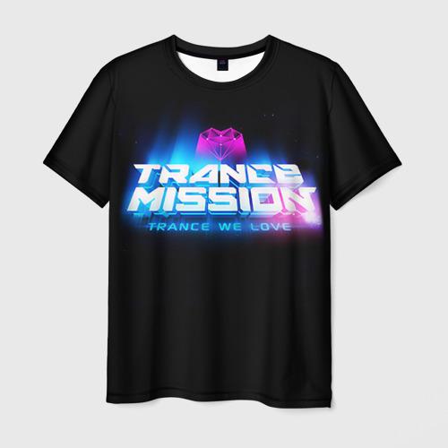 Мужская футболка 3D Trancemission 2