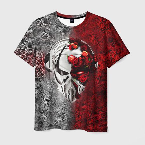 Мужская футболка 3D Пиратская станция 4