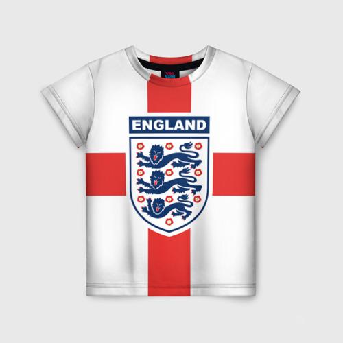 Детская футболка 3D Сборная Англии