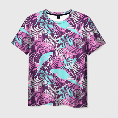 Мужская футболка 3D Summer paradise
